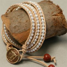 How to Make a Wrap Bracelet. There's also a video to go with it.
