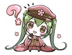 Hatsune Miku senbonsakura - Official Stickers