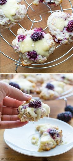 Blackberry, Walnut & Brie Scones: sweet blackberries, crunchy walnuts and creamy brie in a tender, buttery scone. sweetpeasandsaffron.com