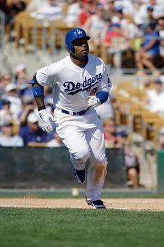 Carl Crawford of the LA Dodgers.