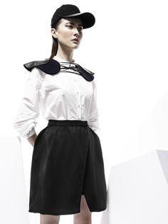 Ati Skirt   Methodology   Shop   NOT JUST A LABEL #njal #notjustalabel #shopping #luxury #shop #skirt
