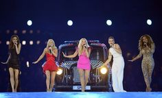 Spice Girls at the 2012 London Olympics Closing Ceremony