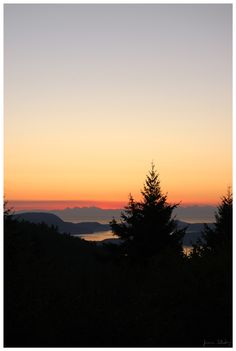 Last Day Sunrise (Salt Spring Island) Photography by Life in a Lens