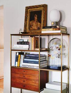 shelf styling on point