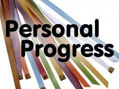 DOZENS of Personal Progress ideas! It's the mother lode!