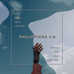 Philippians In nothing be anxious; but in everything by prayer and supplication with thanksgiving let your requests be made known unto God. And the peace of God, which passeth all understanding, shall guard your Bible Verses Quotes, Bible Scriptures, Pray Quotes, Sucess Quotes, Jesus Quotes, Quotes Quotes, Christian Life, Christian Quotes, Be Careful For Nothing