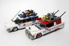 #LEGO #Ghostbusters #Ecto1 & 2 (75828) Review - http://www.thebrickfan.com/lego-ghostbusters-ecto-1-and-2-75828-review/