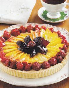 Η Τάρτα Της Μαρίας Sweets Recipes, Desserts, Greek Sweets, Cheesecake, Soups, Food, Tailgate Desserts, Deserts, Cheesecakes