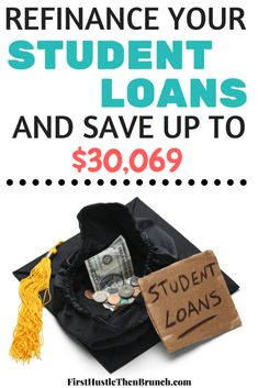 Refinancing your student loans is a great way to relieve some of the financial burdens you may be facing. SoFi can save borrowers $30,069 over the life of the loan. By locking in a lower interest rate on your student loans, you could save tens of thousands of dollars and pay your student loans off faster!