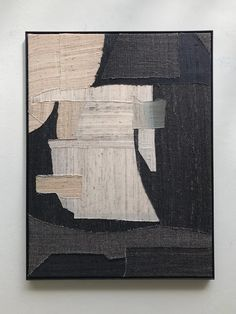 stitched abstract silk composition / X+L Architecture Drawing Sketchbooks, Architecture Collage, Painting Inspiration, Art Inspo, Guache, 3d Max, New Art, Abstract Art, Geometric Painting
