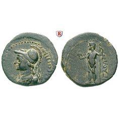 Römische Provinzialprägungen, Aiolis, Aigai, Autonome Prägungen, Bronze 1.-2. Jh., ss: Aiolis, Aigai. Bronze 18 mm 1.-2. Jh.… #coins