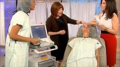 """#Ultherapy on the TODAY Show with Kathie Lee & Hoda by Ultherapy. Kathie Lee Gifford gets Ultherapy done """"live"""" on the TODAY Show! Dr. Francesca Fusco performs the treatment while Dr. Pat Wexler talks about its ability to lift and tighten skin."""
