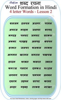 Learn to Read Hindi for Kids.Learn to read 4 Letter Hindi Words - Lesson Basic Hindi words and word formation without Matras made very easy for kids and beginners. Worksheets For Class 1, Writing Practice Worksheets, Hindi Worksheets, English Worksheets For Kids, 2nd Grade Worksheets, Reading Comprehension Worksheets, Vowel Worksheets, Addition Worksheets, Math Addition