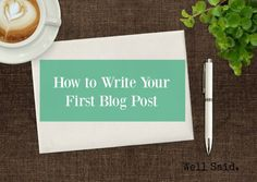 How to Write Your Fi