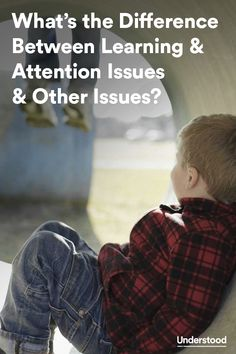 Learning and attention issues can look different in every child. The signs and symptoms can also look similar to what's seen in children with #autism, behavior disorders and other conditions. Learn about key differences here.