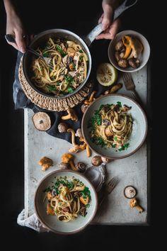 Turkey Tetrazzini with Sautéed Mushrooms + Barilla #PastaWorldChampionship #ad