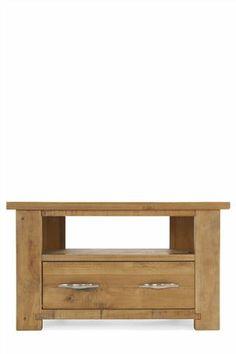 Buy Hartford® Solid Pine Corner TV Unit from the Next UK online shop