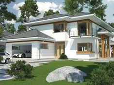 Wizualizacja HR Carmen Magdalena lux CE Subaru Forester, Homes, Mansions, House Styles, Ideas, Home Decor, Houses, Decoration Home, Manor Houses