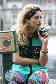 Exclusive! Rita Ora Tells Us All About Being the New Face of Material Girl