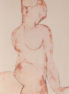 Amedeo Modigliani - Modern Art  - Nu Rose