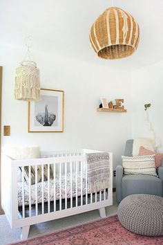 Boho Nursery Decor for Baby, Design Inspiration 2017