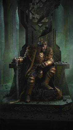 Richard Armitage as Thorin Oakenshield in The Hobbit Trilogy Hobbit Art, O Hobbit, Thorin Oakenshield, Dark Souls, Fili Und Kili, Dwarf Fighter, Robert E Howard, Character Inspiration, Character Design