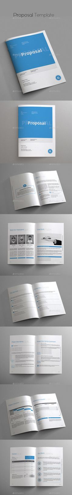 Proposal Template Proposal templates, Proposals and Brochures - best proposal templates