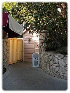 Disneyland's secret restroom.