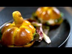 Borbás Marcsi szakácskönyve - Sütőtökös vegaburger (2019.11.24.) - YouTube Healthy Recepies, Baked Potato, Sushi, Paleo, Stuffed Peppers, Baking, Vegetables, Ethnic Recipes, Youtube