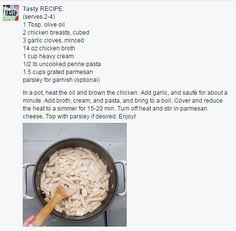 One-Pot Chicken Alfredo