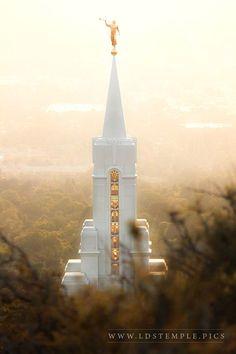 Bountiful Temple Autumn Spire | LDS Temple Pics