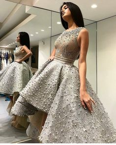 4 Lovely Dress Style For Women - Latest Fashion For Ladies 2019 High Low Prom Dresses, Formal Dresses For Teens, Elegant Prom Dresses, Lace Evening Dresses, Lovely Dresses, Evening Gowns, Formal Gowns, Chic Dress, Classy Dress