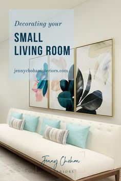 Tips for styling a small living room! How to make your home beautiful and cozy #smalllivingroom #smalllivingroomideas #smalllivingroomdesign #livingroomdecor#interiordesigntips #livingroomdecor Small Living Room Design, Small Living Rooms, Living Room Designs, Modern Farmhouse Interiors, Mid Century Modern Living Room, Minimalist Interior, Home Office Design, Modern Interior Design, Small Sitting Rooms