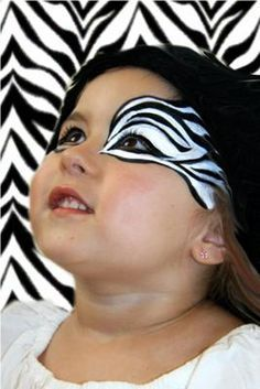 1000 Ideas About Zebra Face Paint On Pinterest Cheetah