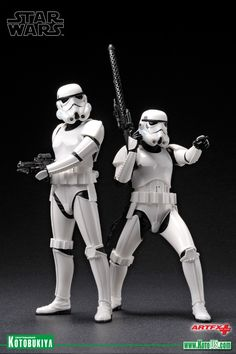 Kotobukiya Star Wars Stormtrooper Artfx Statue by Kotobukiya Star Wars Art, Lego Star Wars, Stormtrooper Art, Kotobukiya Star Wars, Star Wars Models, Star Wars Girls, The Force Is Strong, Marvel, Star Wars Collection