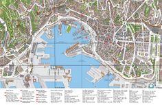 Risultati immagini per cartina genova città