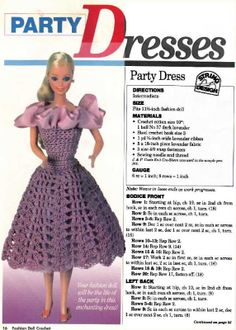 Barbie Clothes Patterns, Crochet Barbie Clothes, Doll Patterns, Knitted Dolls, Crochet Dolls, Accessoires Barbie, Free Barbie, Barbie Dress, Barbie Doll