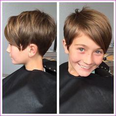 Today we have the most stylish 86 Cute Short Pixie Haircuts. We claim that you have never seen such elegant and eye-catching short hairstyles before. Pixie haircut, of course, offers a lot of options for the hair of the ladies'… Continue Reading → Little Girls Pixie Haircuts, Short Pixie Haircuts, Little Girl Hairstyles, Pixie Hairstyles, Hairstyles With Bangs, Hairstyle Ideas, Haircut Short, Simple Hairstyles, Layered Hairstyles