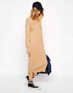 ASOS | ASOS Midi Dress In Knit at ASOS