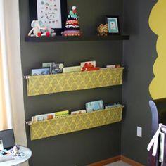 Fabric Sling Bookshelf
