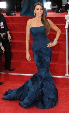 A fantastic dress designed fabulous Sofia Vergara must wear this dress with style! :)... Love her