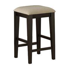 Found it at Joss & Main - Keri Counter Stool 24 Bar Stools, Counter Stools, Furniture Update, Home Furniture, Backless Bar Stools, Hidden Storage, Joss And Main, New Homes, Cushions