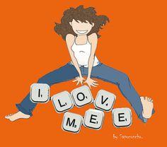Mira este artículo en mi tienda de Etsy: https://www.etsy.com/listing/92518498/i-love-me-magnet-anti-valentine