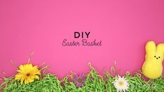 Save this spring DIY project to learn how to make a colorful Easter basket.