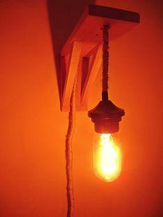 DIY wall lamp