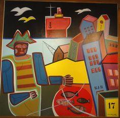 Carlos Páez Vilaró - Artista uruguayo, (pintor, ceramista, escultor, muralista, escritor, compositor y constructor uruguayo) Montevideo 01/11/1923 - Punta Ballena 24/02/2014 (Uruguay)