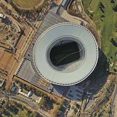 Places - Green Point Stadium by GMP Architekten. Cape Town. South Africa