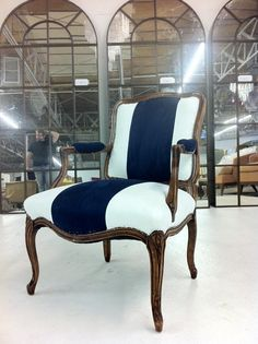 Classic French Bergere Chair