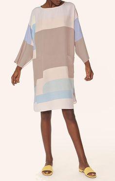 Mara Hoffman Tunic Dress in Pastel Multi Color
