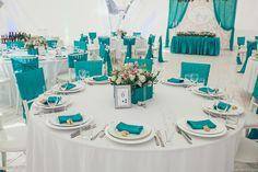 Украшение зала на свадьбу | Свадьбы в голубом цвете | 1285 Фото идеи